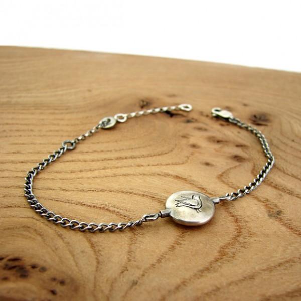 bird and cage bracelet