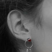 earrings acrobat dancer