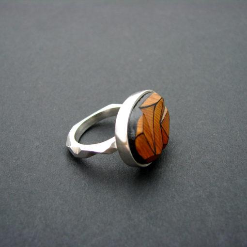 ethnic chunky designer ring