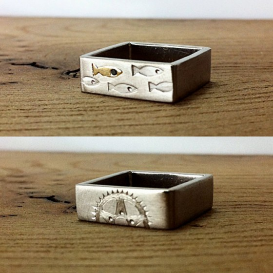 square ring for him 2