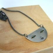 silver face jewellery