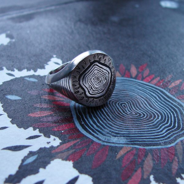 sylvaine jewellery signet ring