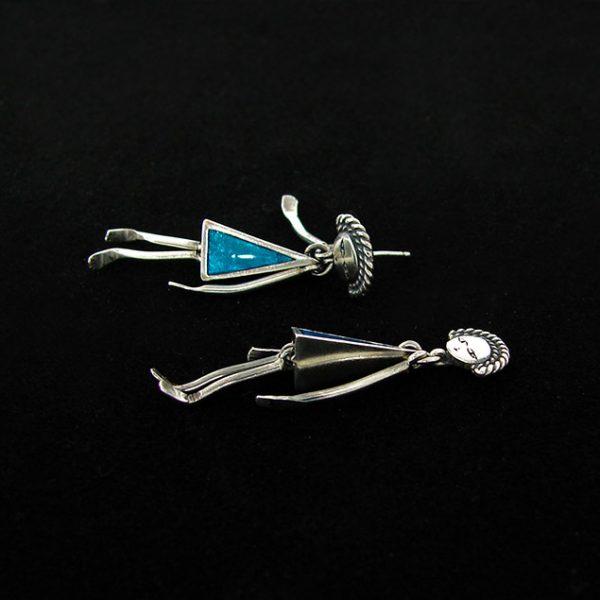 long studs earrings