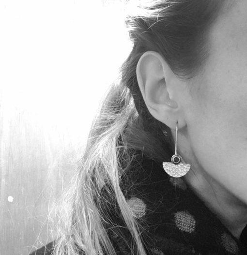 fan earrings 2