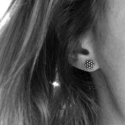puces d'oreilles étoiles