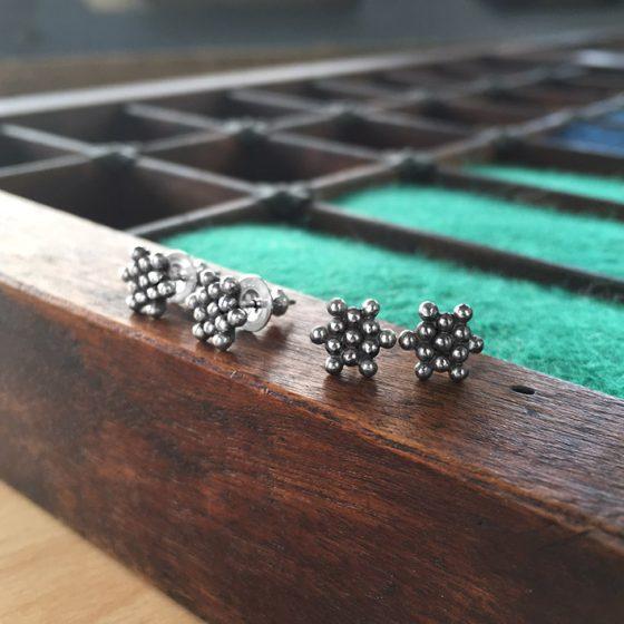 small star earrings