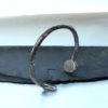 bracelet tronc d arbre argent
