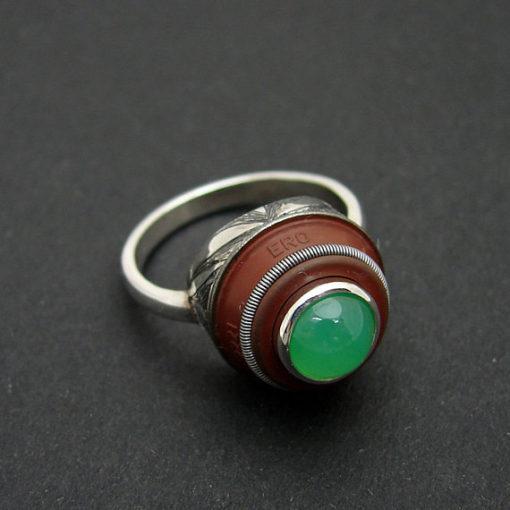 chysoprase ring