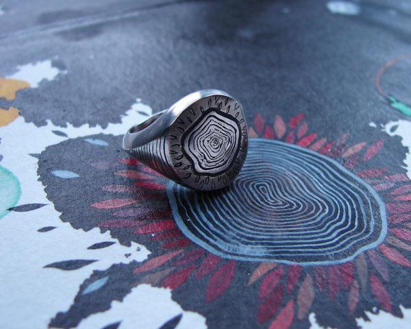 sylvaine jewellery signet ring