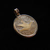 handmade christening baptism medal