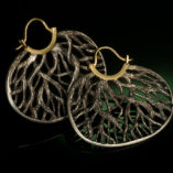 roots earrings